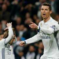 Ronaldo - Real Madrid 3 Napoli 1: Champions League holders in command as they come from behind to see off Italians