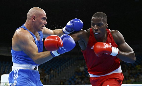 Unbelievable! Nigerian-British Boxer Knocks Out Opponent in 20 Seconds…See Details