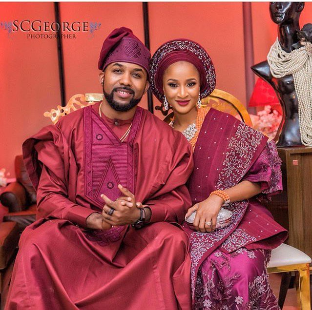 Video From Banky W And Adesua Etomi S Wedding Introduction