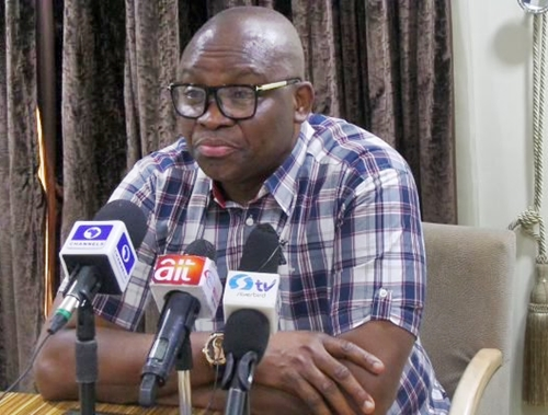 Gov. Fayose To Declare Presidential Ambition On October 1