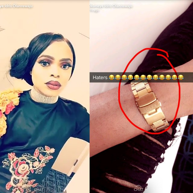 Daddy Freeze Goes Hard On Bobrisky For Wearing A Fake Rolex Watch (Photos)