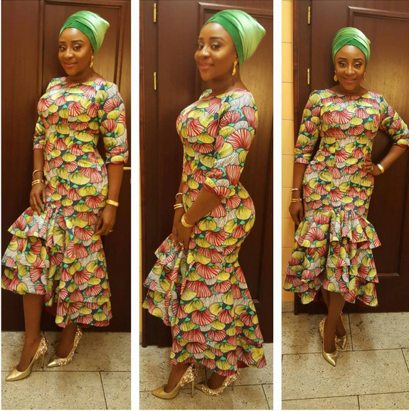 #HallelujahChallenge: Ini Edo Begs God to Bless Her With Children