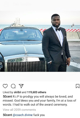 50 Cent Blasts Fan for Questioning Him On Why He Upload This Photo On IG (SEE)
