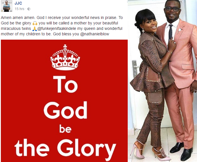"Daddy Freeze Congratulates Funke Akindele On Her ""Twin Pregnancy'"