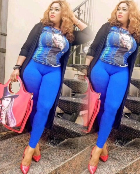 Fans Slam Actress Biodun Okeowo For Flaunting Her Camel Toe And …..(See Photos)
