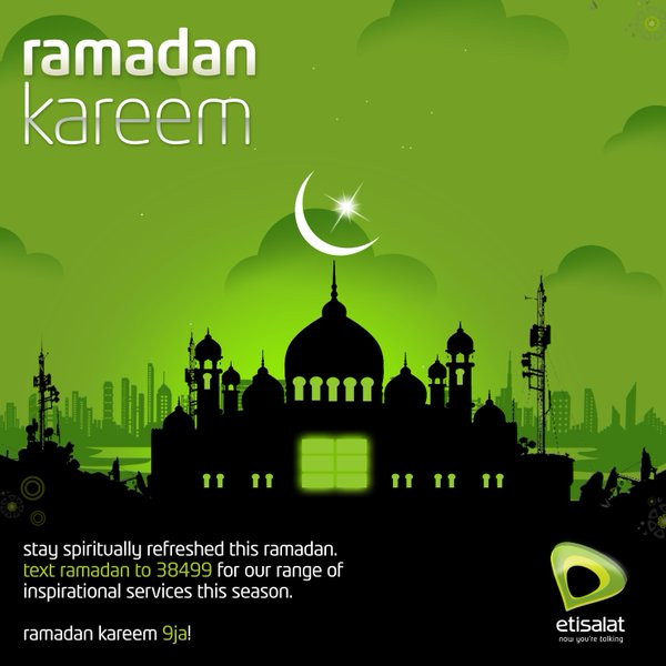 "Awoof! Enjoy Etisalat ""Ramadan"" Unlimited GB (Come And Enjoy And Drop Your Testimony o)"