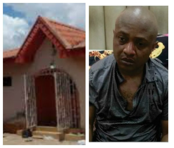 See The House Where Billionaire Kidnapper, Evans Kept His Victims (Photo)