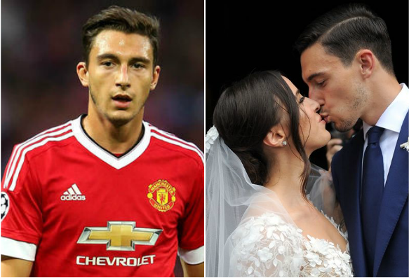 Manchester United Defender Matteo Darmian Gets Married In Lavish Wedding Ceremony In Italy | PHOTOS