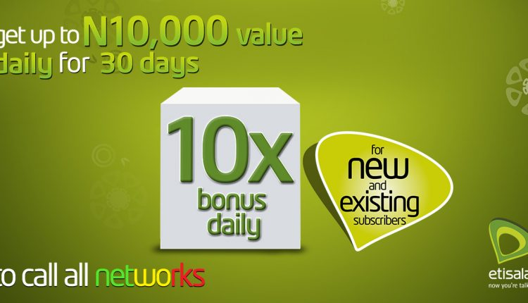 Etisalat Introduce New Package Called Super Bonus Offer… You Will Love It