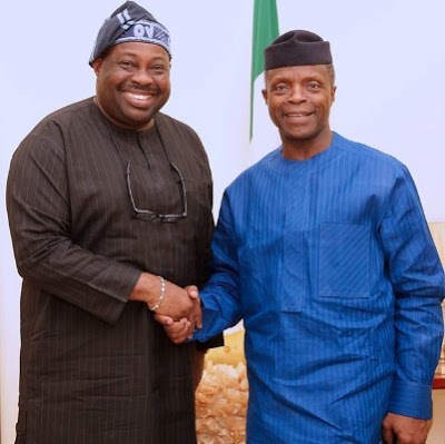 Pendulum: A Special Evening With The Acting President – By Dele Momodu