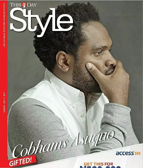 Cobhams Asuquo Covers Thisday Style Magazine Latest Issue