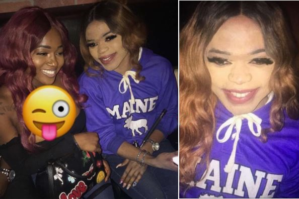 Bobrisky Looks Beautiful In Unedited Photos As He Steps Out In The US