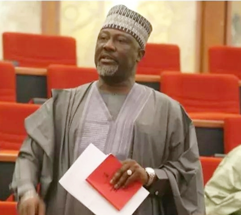 Image result for INEC vows to proceed with Senator Dino Melaye's recall