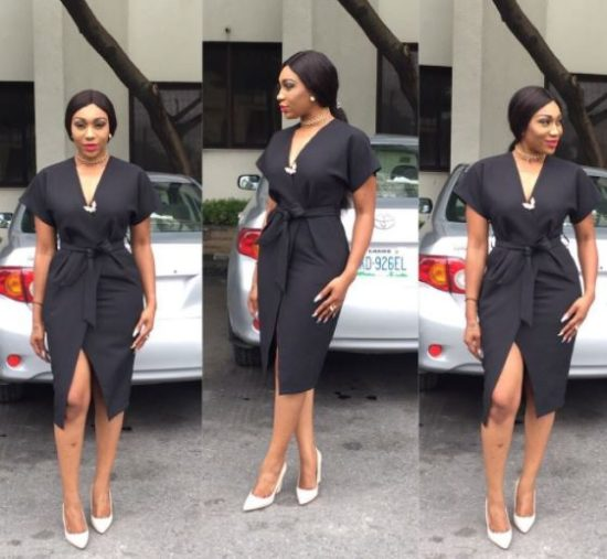 Actress Ebube Nwagbo Flaunts Curves In Lovely Outfit (Photos)
