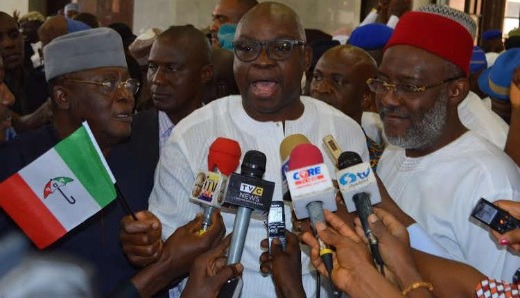 Buhari Should Address Nigerians – Fayose Reacts To Osinbajo London Visit