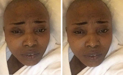 Actress Halima Abubakar is suffering from Fibroid complications