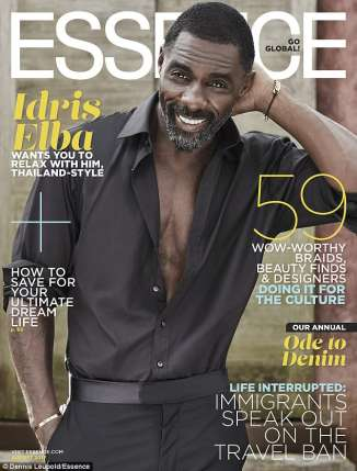 Idris Elba Strips Down For Essence Magazine Cover Feature (Photos)