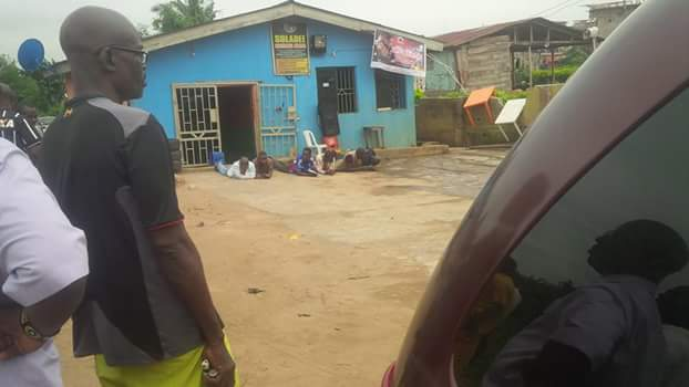 Fake SARS Arrested In Ikorodu (Photos)