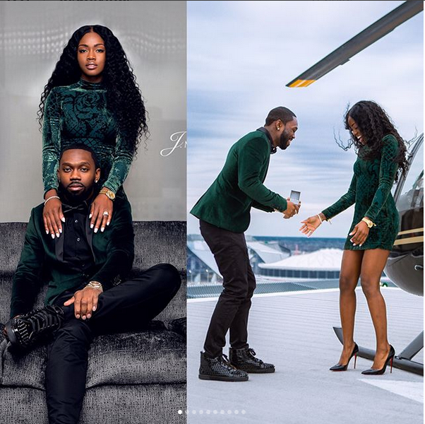 See How This Man Proposed To His Longtime Girlfriend In Style (Photos)