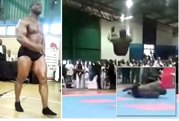 Champion Bodybuilder Dies After Breaking His Neck While Doing Backflip (Photos)