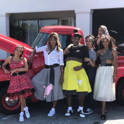 Serena Williams Celebrates '50s-Themed Baby Shower with Ciara, Kelly Rowland, Eva Longoria and others (Photos)
