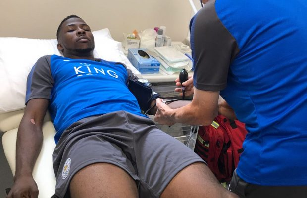 Kelechi Iheanacho Finally Undergoes Leicester City Medical (Photo)