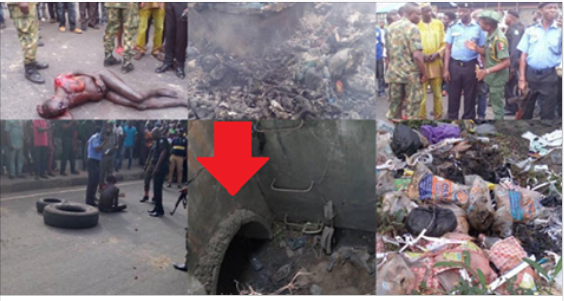 Yet Another Alleged Ritualist Underground Den Discovered At Ile Zik Bus Stop, Ikeja, Lagos (Photos)