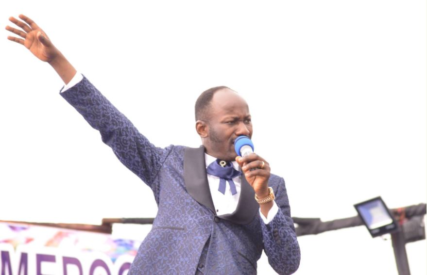 Checkout Apostle Johnson Suleman's Classy Shoes in These Photos