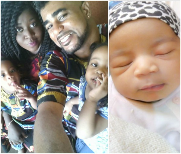 #BBNaija's Thin Tall Tony And Wife Welcome Baby Number 3