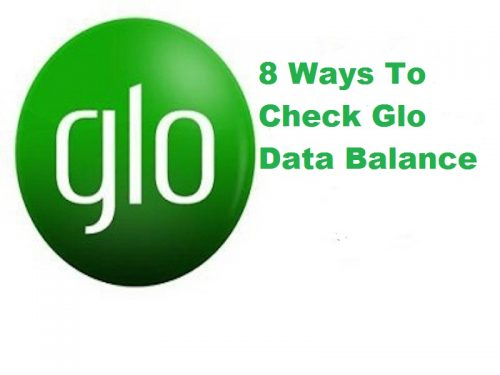 check glo data balance
