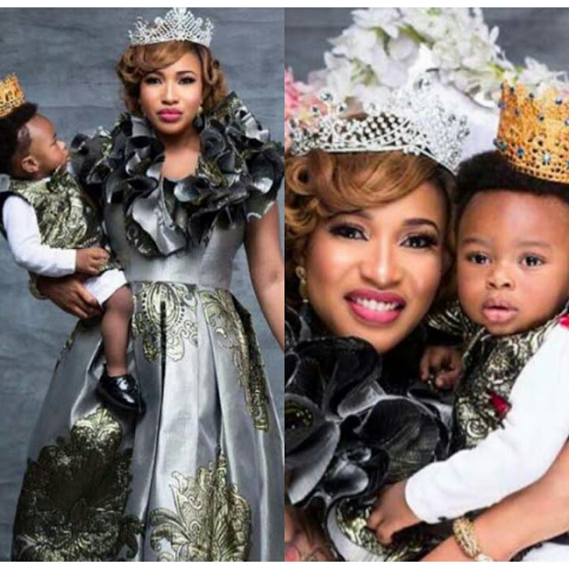 """""""the Worst Kind Of Pain For A Child Is To Be Raised In A Violent Environment"""" – Tonto Dikeh"""