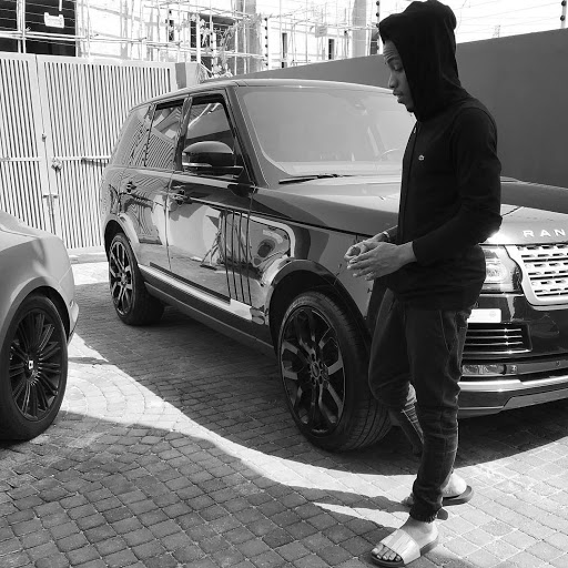 Singer Tekno Shows off his Range Rover in New Photo