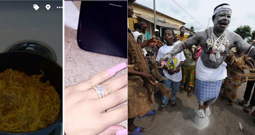 Woman Uses Witchcraft and Menstrual Blood to Cook Spaghetti Only to Get Her Man to Propose to Her (Photos)