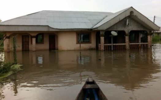 Flood Submerges 21 Communities In Delta State (Photos)