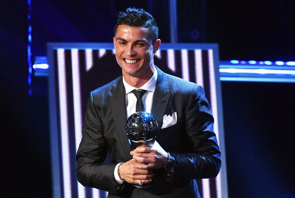 Cristiano Ronaldo Wins 2017 FIFA World Player Of The Year
