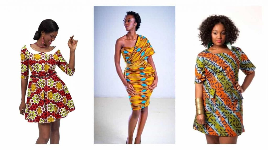 Latest Nigerian English Gowns: Ladies!! Checkout These 15 Gorgeous Nigerian Short Gowns
