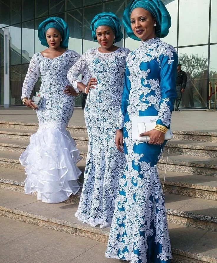 Checkout These Latest Nigerian Aso Ebi Styles 2017 2018 Photos