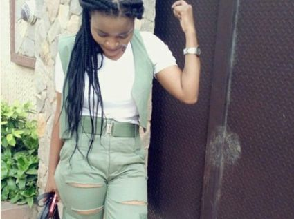 Female Corper Turns Her Uniform To A Ripped Jean (Photos)