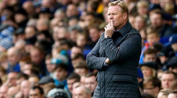 Everton Sack Manager Ronald Koeman After Arsenal Defeat