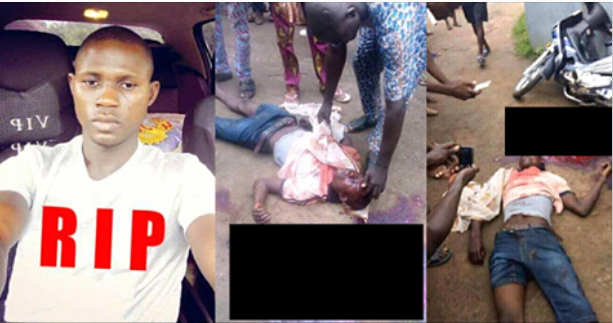 Man Returning From Church Killed By Nigeria Customs Officer's Stray Bullet (Photos)
