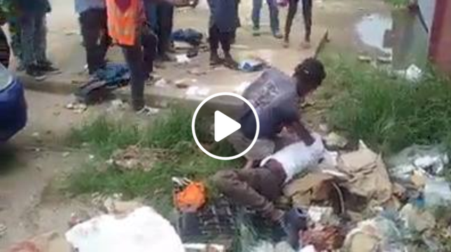 Pastor Trying to Heal a Madman Receives Serious Beaten from the Madman (Watch Video)
