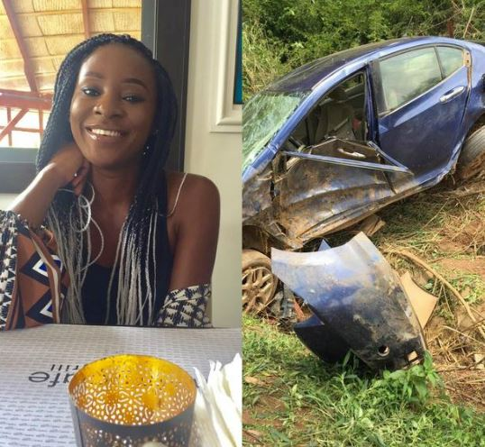 Photo Of Lady Goes Viral After Horrific Accident In Abuja