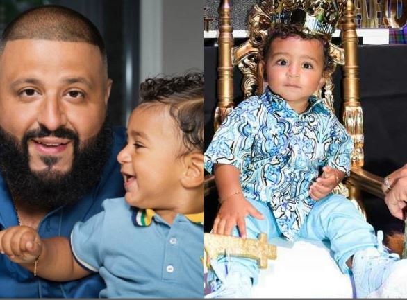 Proud Dad!! DJ Khaled Throws Son, Asahd Most Extravagant Birthday Party (Photos, Videos)