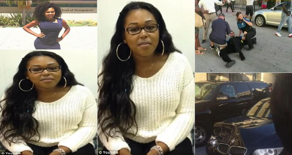 22-year-old Young Lady Shot Dead on Her Birthday After Crashing Into Police Officers (Photos/Video)