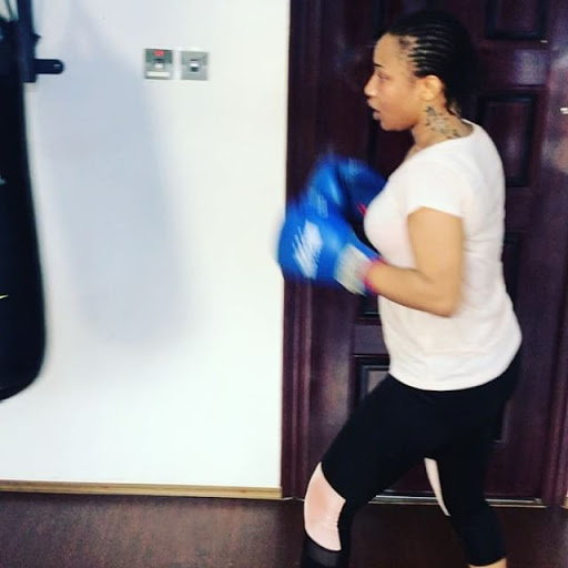 Drama Queen! Tonto Dikeh Hits The Gym After Eating Too Much Eba Last Night