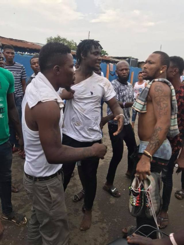 23559652 1226028910874417 6372190957835283480 n - Yahoo Boy, Tomiwa Caught Stealing in Egbeda this Morning (Video)