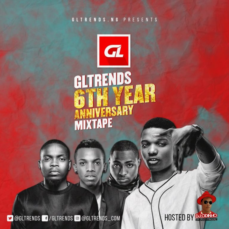 DOWNLOAD: GLtrends 6th-Years-Anniversary Mixtape Hosted By – Dj Odinho