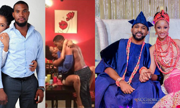Image result for adesua Etomi's alleged ex, Kunle Remi for losing her to Banky