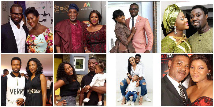 These 10 Beautiful Nollywood Actresses and Their Beloved Husbands Will Melt Your Hearts (Photos)