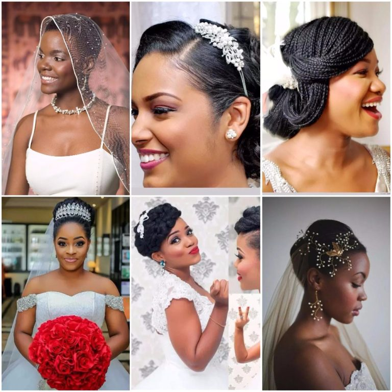 Checkout best Hairstyles for Nigerian brides (Photos ...
